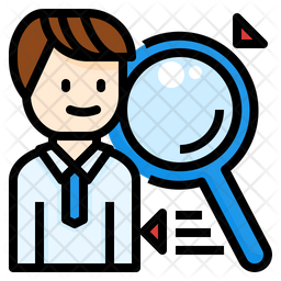 Competitor Colored Outline Icon