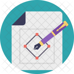 Complex Drawing Flat Icon