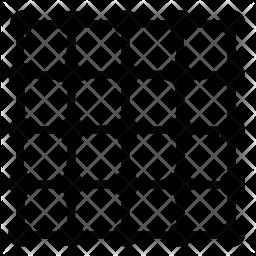 Complex grid Icon