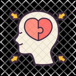 Complex mind Icon