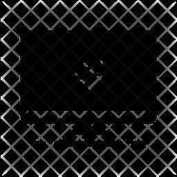 Computer Glyph Icon