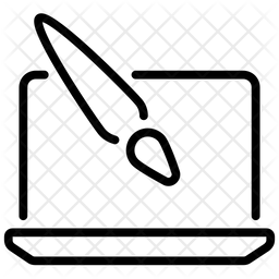 Computer Art Icon
