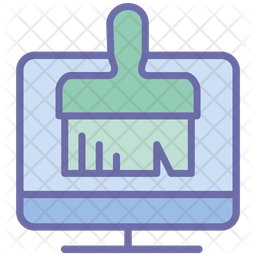 Computer Cleanup Icon