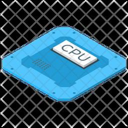 Computer Microprocessor Icon