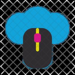 Computer Mose Flat Icon