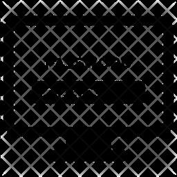 Computer Password Glyph Icon