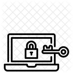 Computer Privacy Icon