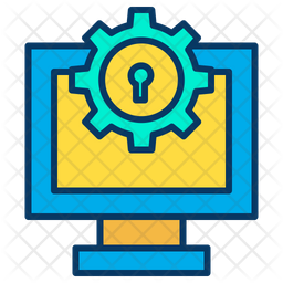 Computer protection Icon