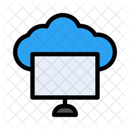 Computer Storage Icon Of Colored Outline Style Available In Svg Png Eps Ai Icon Fonts