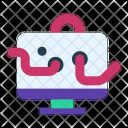Computer worm Icon