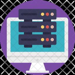 Computing Server Icon