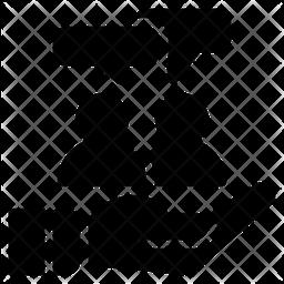Comunication Glyph Icon