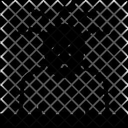 Concern Glyph Icon