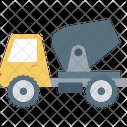 Concrete Vehicle Icon