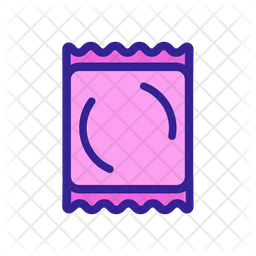 Condom packet Icon