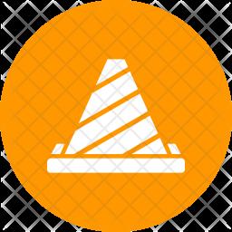 Cone Glyph Icon