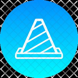 Cone Line Icon