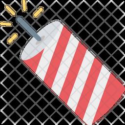 Confetti Cone Icon