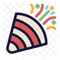 Confetti Popper Icon