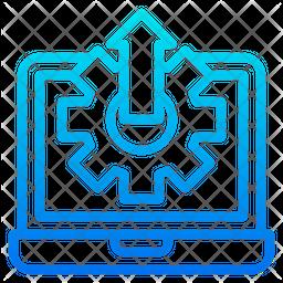 Configuration Gradient Icon