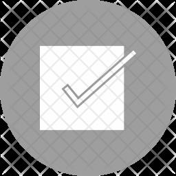 Confirm Glyph Icon