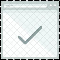 Confirm website Icon
