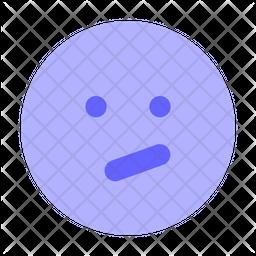 Confused-face Emoji Icon