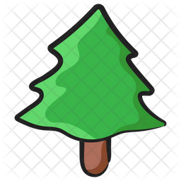 Conifer Tree Icon