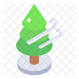 Conifer Windbreak Icon
