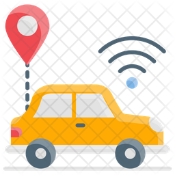 Connected Car Icon