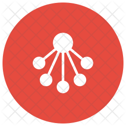 Connection Glyph Icon