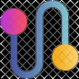 Connection Gradient Icon