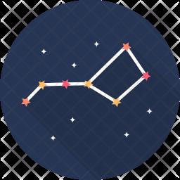Constellations Flat Icon