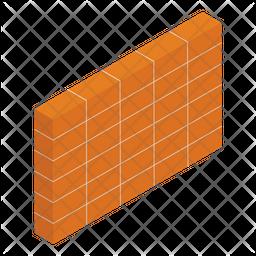 Construction Bricks Icon