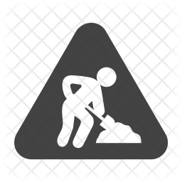 Construction sign Icon