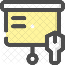 Construction Training Icon