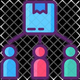 Consumer Direct Logistic Icon
