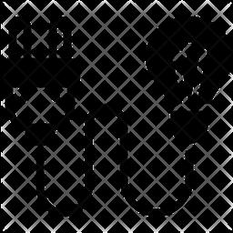 Consumption Glyph Icon