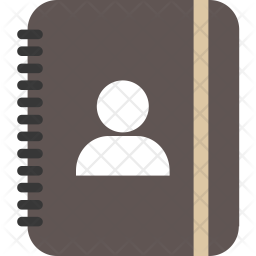 Contact diary Icon