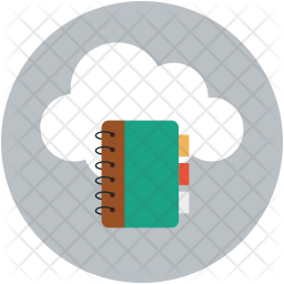 Contact synchronize to cloud Icon