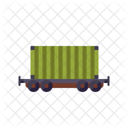 Container Flat Icon