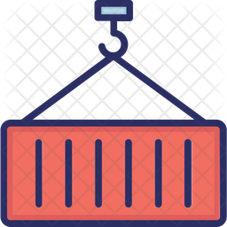 Container Colored Outline Icon