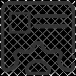 Content Line Icon