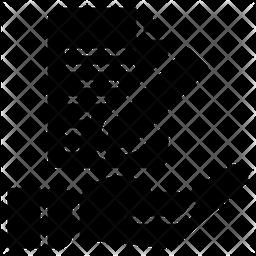 Contrac Glyph Icon