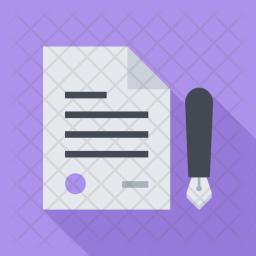 Contract, Seo, Business, Startup, Marketing, Optimization Icon