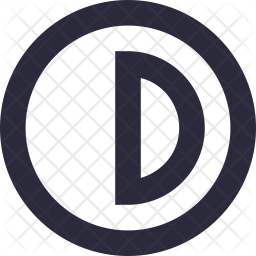 Contrast Line Icon