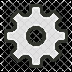 Control Colored Outline Icon