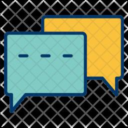 Conversation, Chat, Bubble, Speech, Chatting, Talk, Speak Icon
