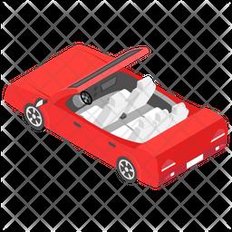 Convertible Car Icon