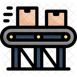 Conveyor Package Icon